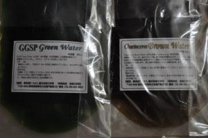 緑藻(淡水)と珪藻(海水)