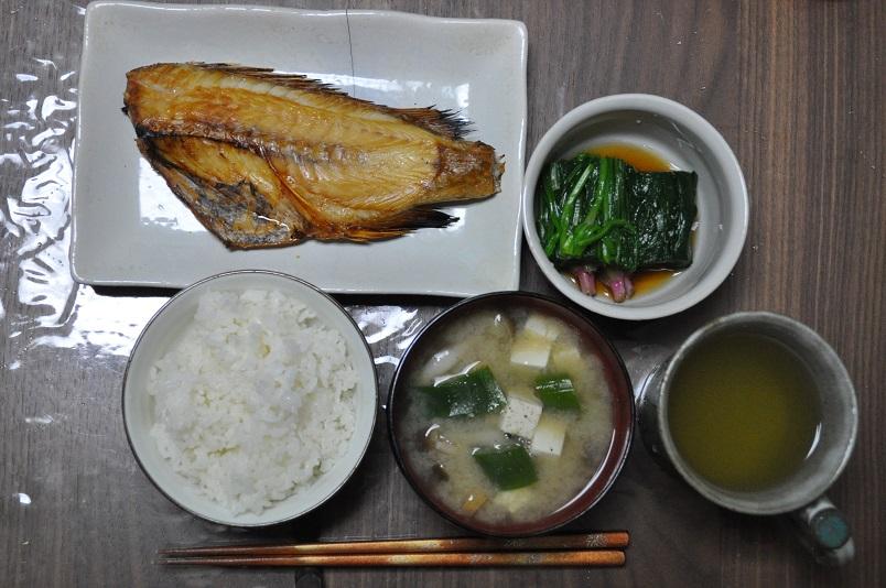 赤魚の焼き魚定食