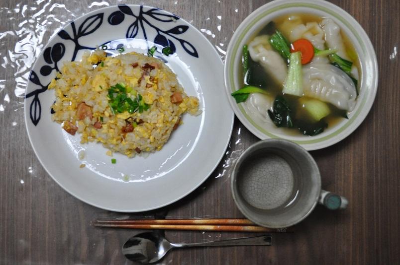チャーハン&餃子スープ