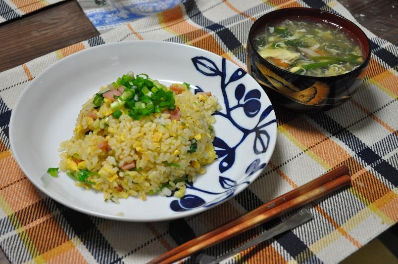 チャーハン&玉子スープ
