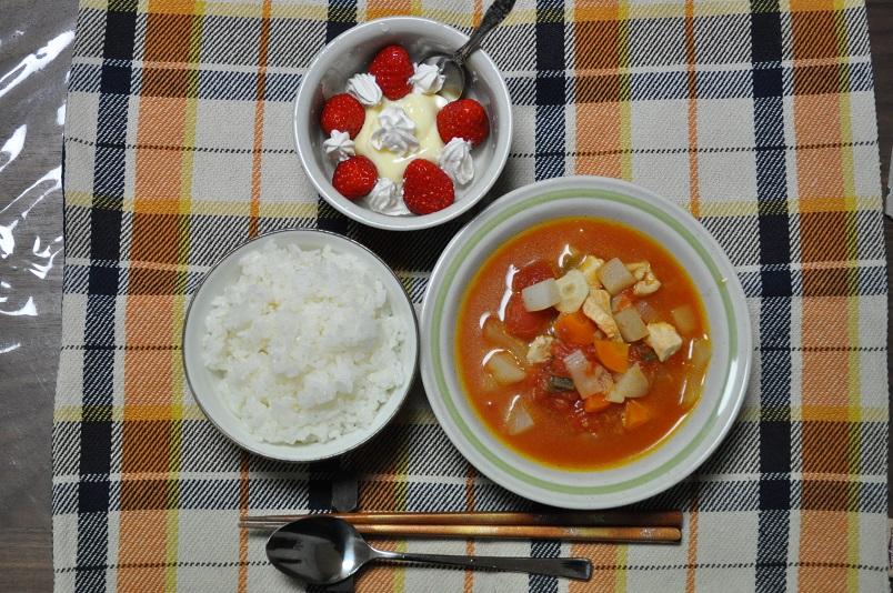 トマトスープ他