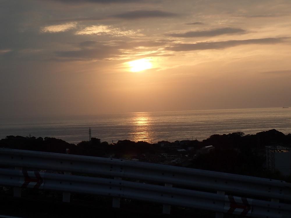朝5時台の太陽