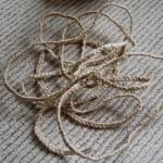 三つ編み完了
