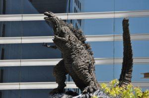 シン・ゴジラの像